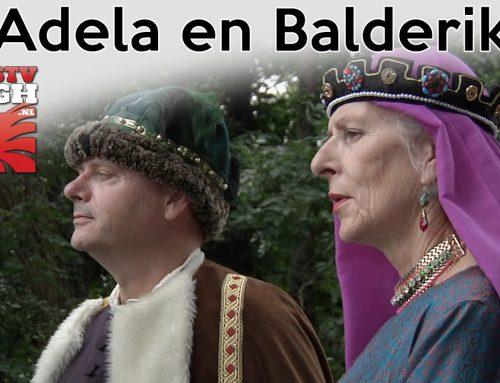 Adela en Balderik in Stadsmuseum Bergh